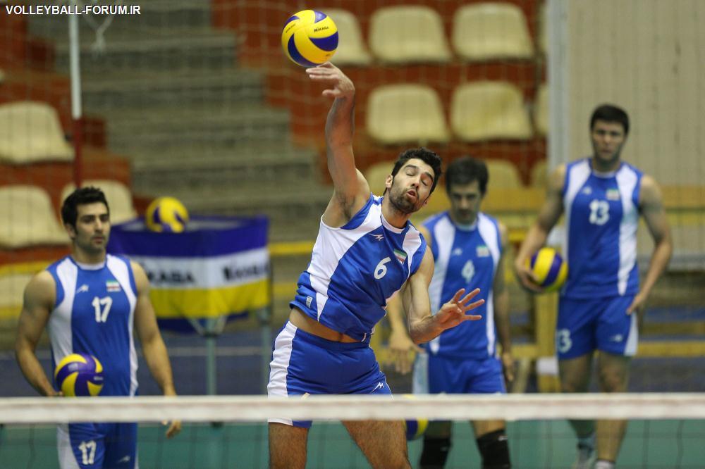 سرپرست تیم ملی والیبال : تیم ملی والیبال سه شنبه به بلغارستان میرود !