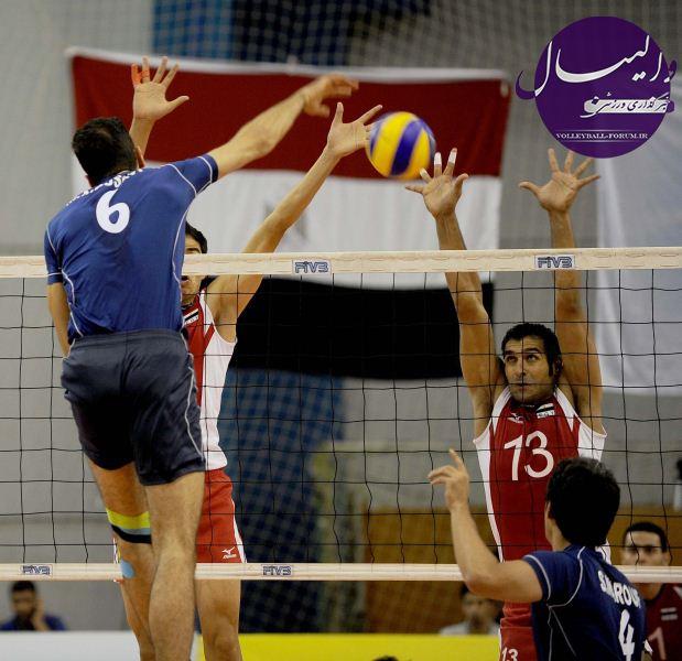 اعلام آمادگی مصر برای دیدار دوستانه با تیم ملی والیبال !