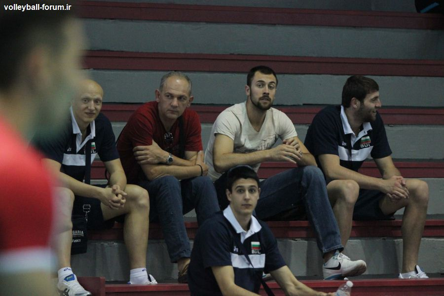 حاشیه های دیدار دوم تیم ملی والیبال و تیم بلغارستان !