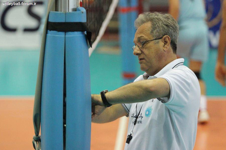 تمرینات تیم ملی والیبال برای بازی با صربستان آغاز شد
