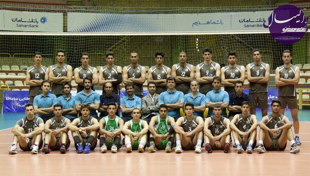 دومين برد تیم ملی والیبال جوانان برابر ترکیه !
