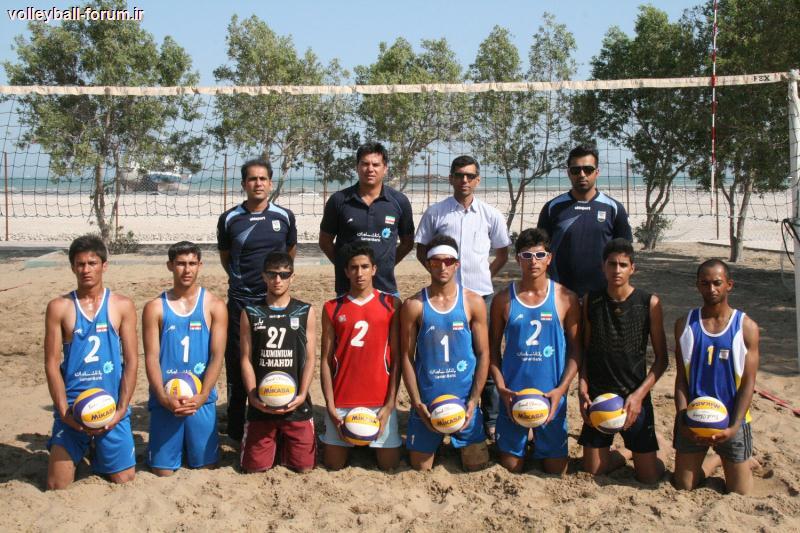 پایان آخرین مرحله اردوی تیم ملی والیبال ساحلی جوانان در بندر عباس !