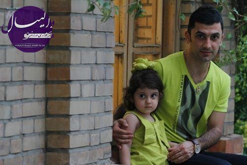 مصاحبه مفصل خبر آنلاین با فرهاد ظریف و همسرش/میخواستم از تیم ملی خداحافظی کنم اما نگذاشتند !
