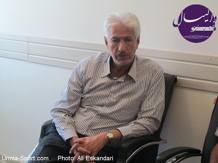 گفتگوی اختصاصی با سرمربی شهرداری ارومیه / ابراهیم وطن پرست: فقط بهترینها در تیم ما جای دارند !
