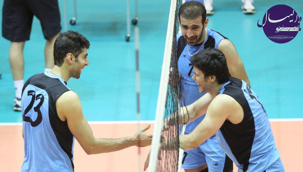 تیم ملی ب والیبال ایران در مسابقات کشورهای اسلامی !