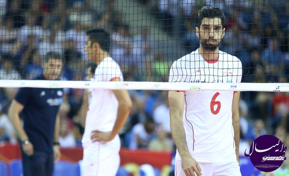 فرانسه 3 - ایران 1/ غرور گریبان تیم ملی والیبال را گرفت !