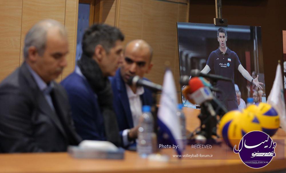 گزارش تصویری از نشست خبری سرمربی تیم ملی !