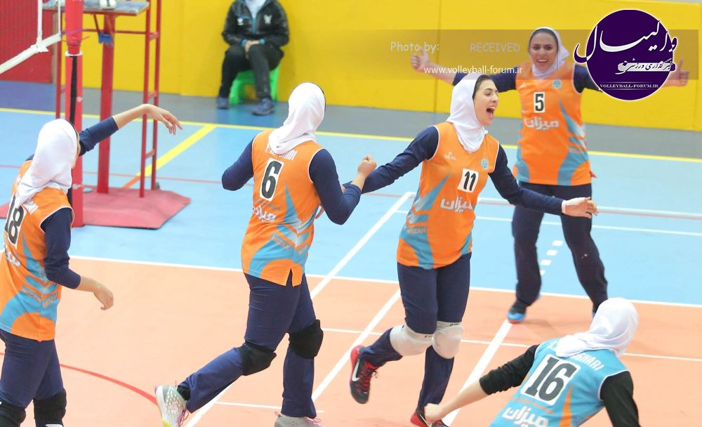 لیگ دسته یک زنان با قهرمانی میزان به پایان رسید