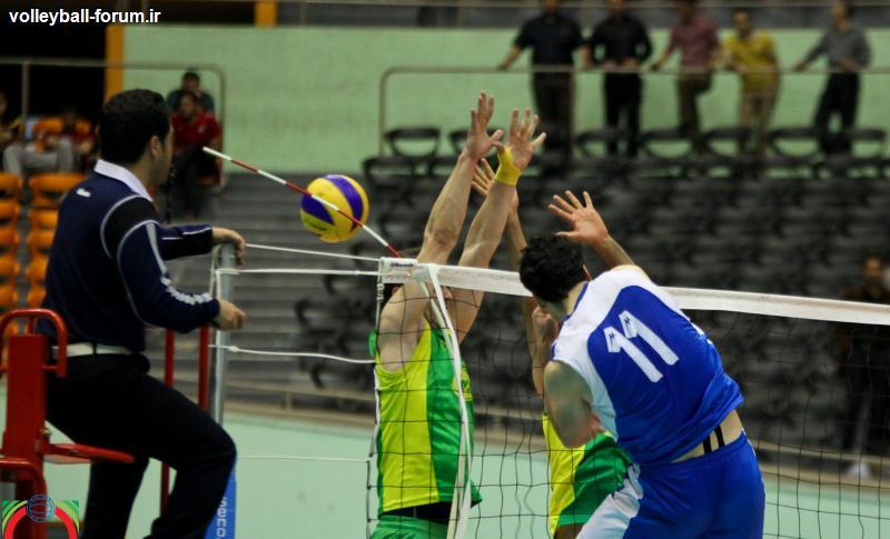پیروزی کاله با ملی پوشانش مقابل تیم ملی والیبال بزرگسال ها !
