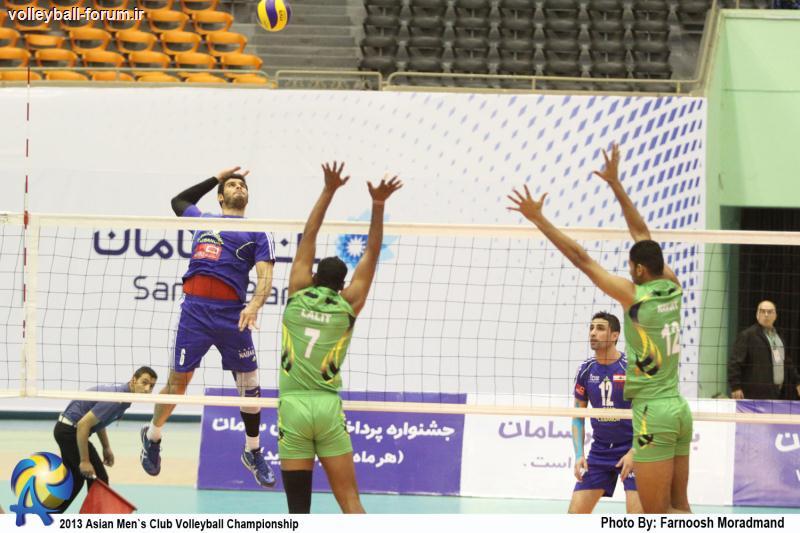 گزارش تصویری از بازی گازهند -بشیریه لبنان/جام باشگاه های والیبال آسیا !