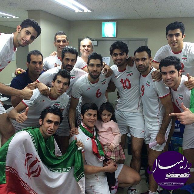 شیرینی مضاعف قهرمانی آسیا؛تیم ملی والیبال پس از 44 روز به ایران بازگشت