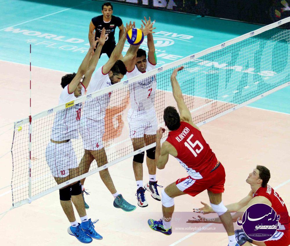 برتری نفس گیر روس ها برابر شیر مردان ایران /شاگردان کواچ از پس قهرمان المپیک برنیامدند