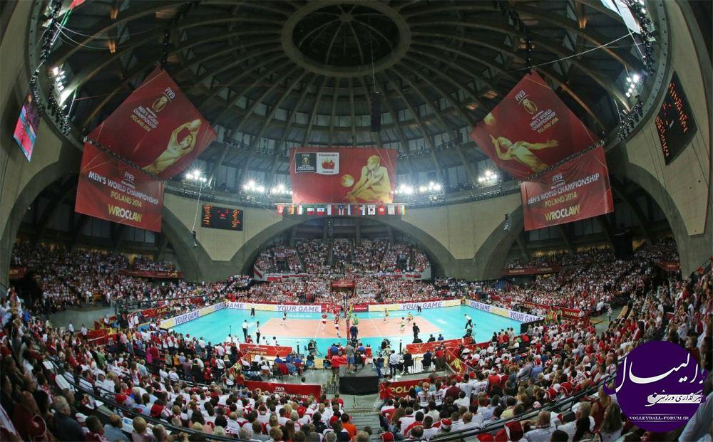 نتایج دیدار های دوم مرحله گروه B و C رقابت های جهانی والیبال