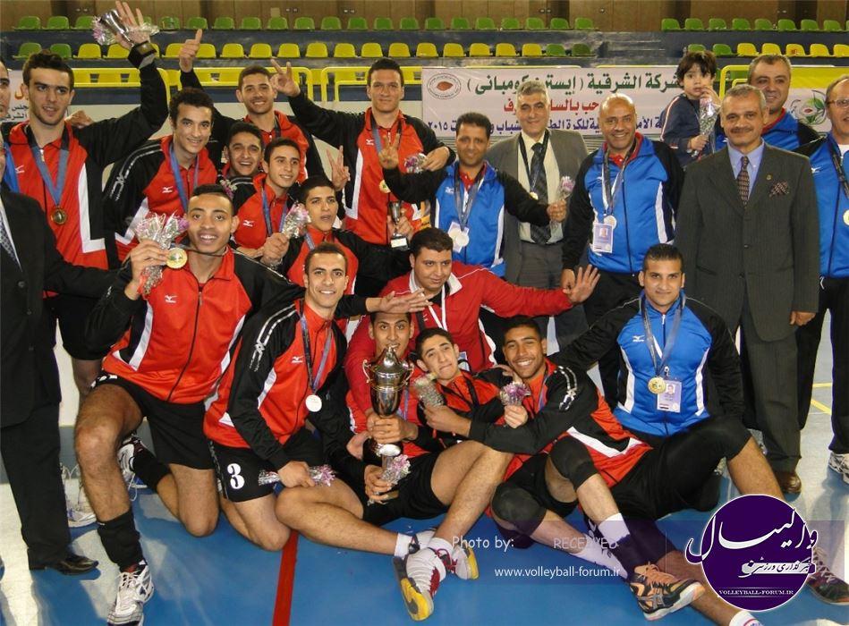 مصر قهرمان مسابقات والیبال جوانان آفریقا شد
