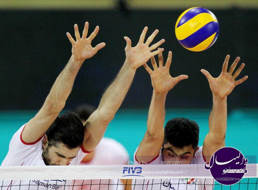 گزارش تصویری دیدار تیم ملی والیبال ایران و روسیه !
