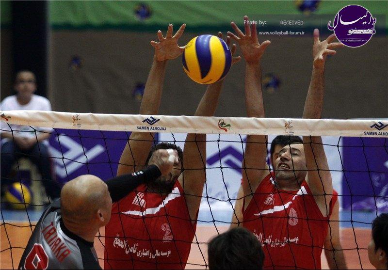 لیگ دسته یک والیبال نشسته کشور در شاهرود برگزار شد/ آزادشهر قهرمان شد
