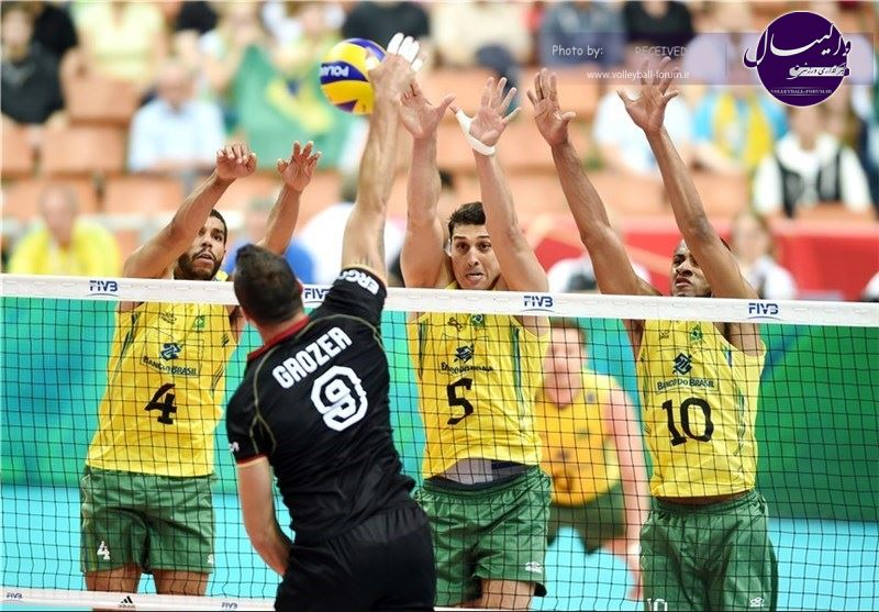 لارانژراس : برزیل در جام جهانی والیبال شرکت نمیکند !