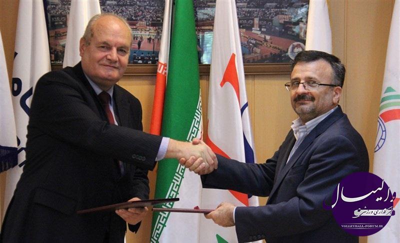 پروتکل همکاری والیبال ایران و بلغارستان امضا شد !
