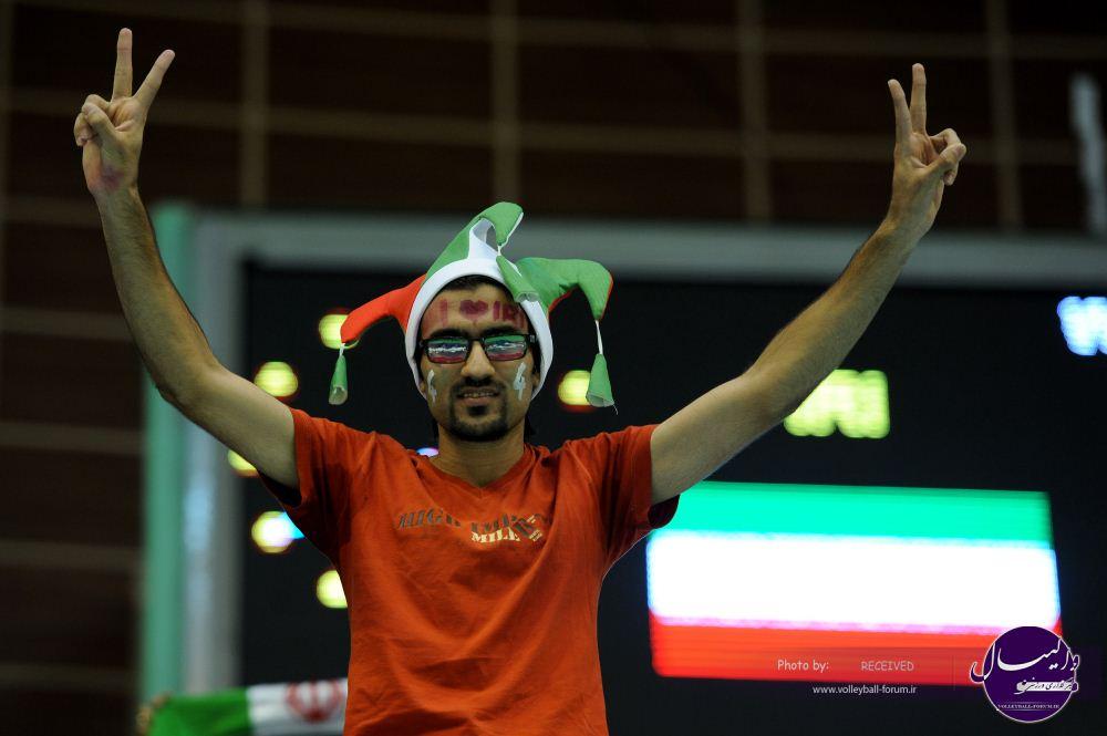 گزارش تصویری دومین دیدار تیم ملی والیبال ایران و ایتالیا !