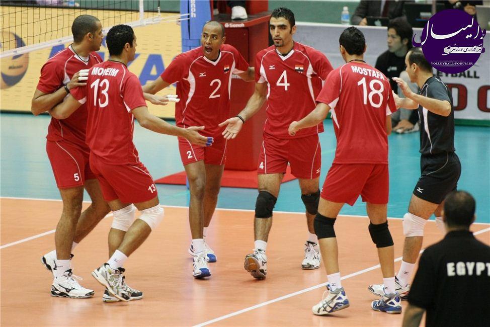 والیبال قهرمانی 2014 جهان/ مصر هم مسافر لهستان شد !