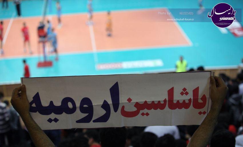 نیمه نهایی لیگ برتر / گزارش تصویری شهرداری ارومیه 3-0 میزان مشهد / شماره یک