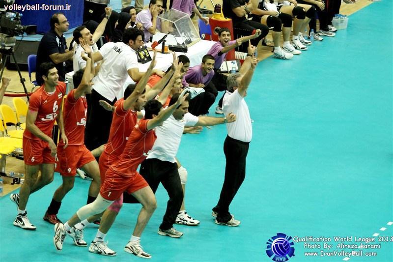 فهرست 22 نفره تیم ملی والیبال ایران در لیگ جهانی 2013 والیبال اعلام شد !