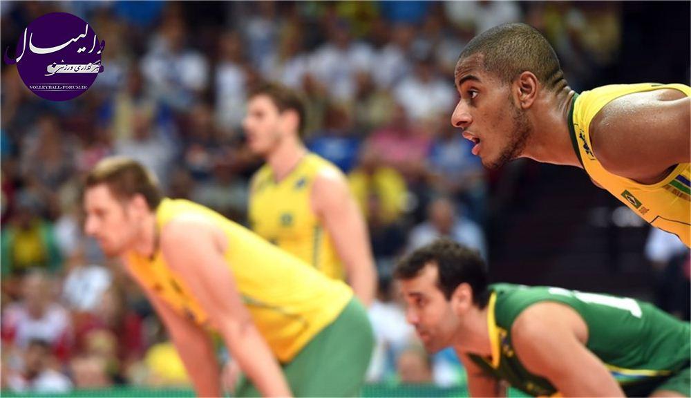 برنامه دیدر های دوم گروه B و C مسابقات جهانی / برزیل و بلغارستان به دنبال تثبیت صدرنشینی!