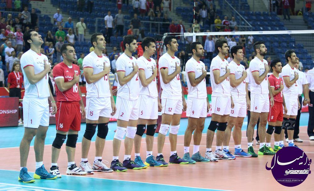 نگاهی به آمار تیم ملی والیبال ایران در مسابقات جهانی