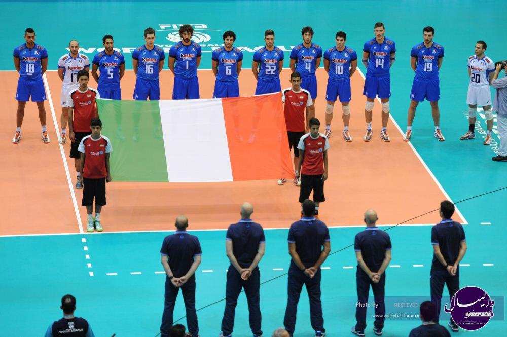 تصاویر دیدار ایران و ایتالیا