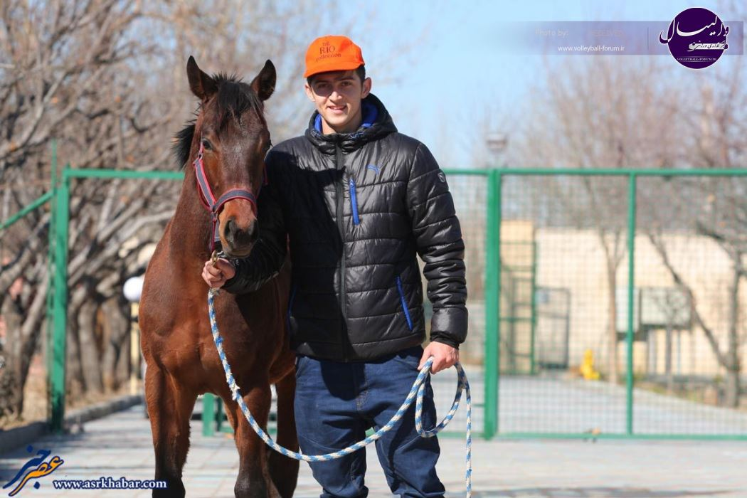 سردار آزمون مالک اسب شد / آزمون : والیبال و اسبدوانی ورزش اصلی ترکمن صحرا است (+تصاویر) !