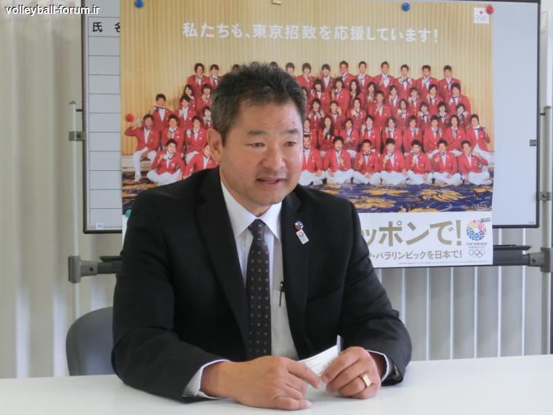 رئیس فدراسیون والیبال ژاپن : ژاپن با مربی امریکایی الاصل به لیگ جهانی می آید !