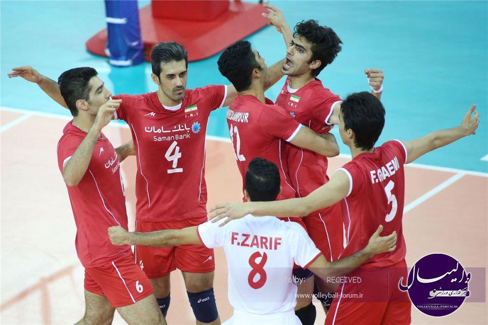 معجزه والیبال ایران؛ برزیل دوم شد و روسیه به خانه بازگشت!