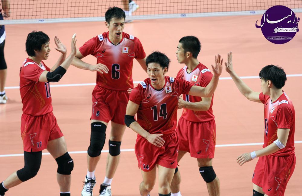 سرمربی تیم ملی والیبال ژاپن 30 بازیکن را به اردو دعوت کرد !