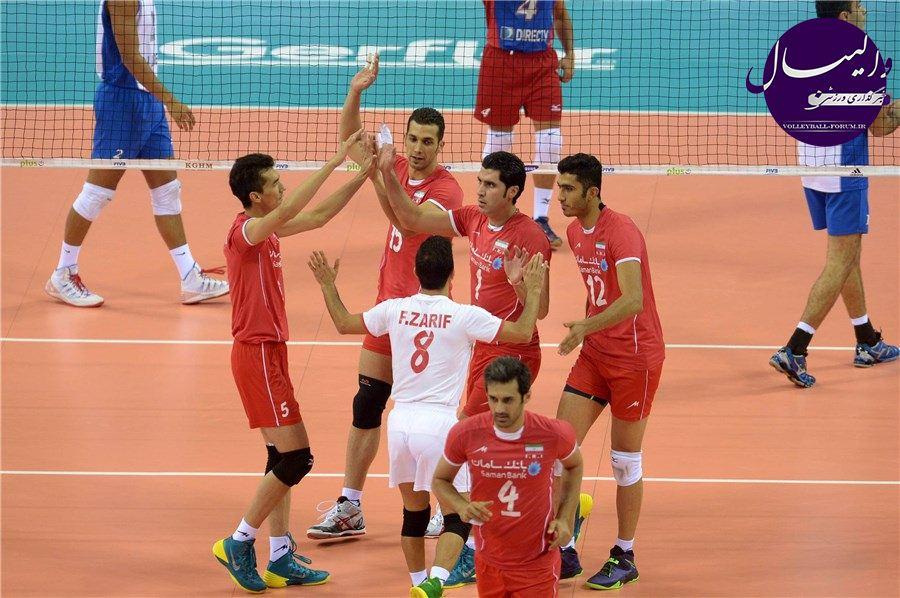 برنامه مسابقات تیم ملی والیبال در راند دوم مسابقات جهانی 2014 لهستان !