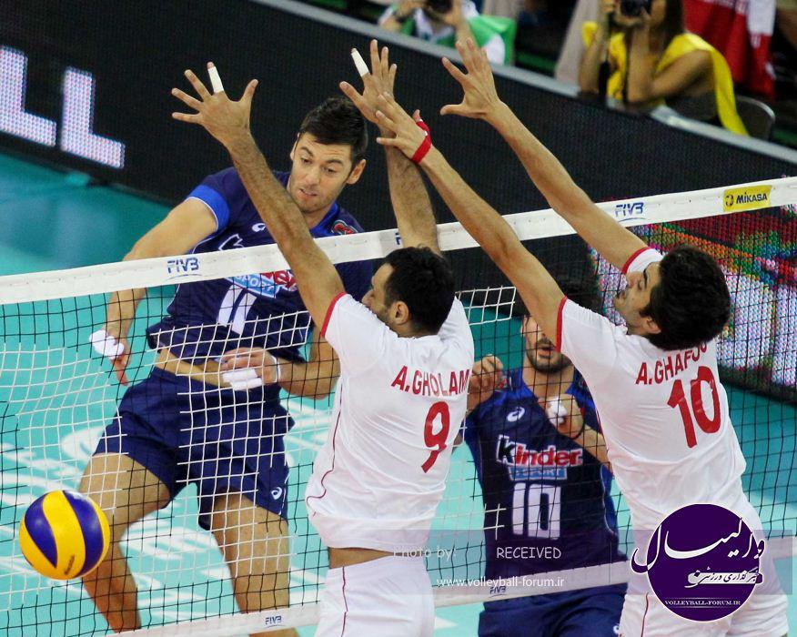 تیم ملی والیبال ایران در دومین حضور خود در لیگ جهانی چهارم شد !