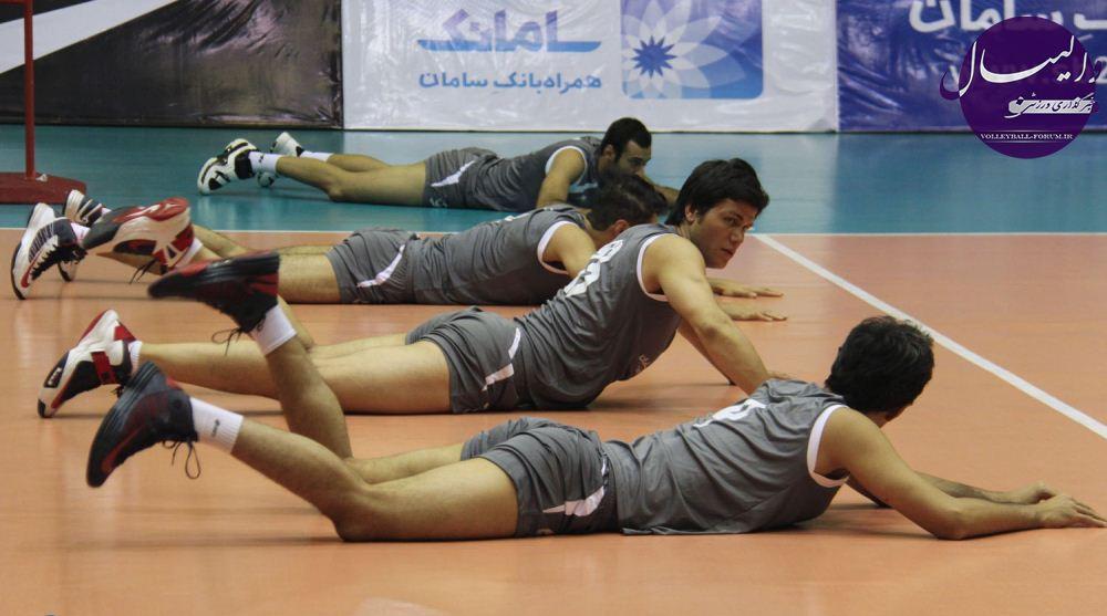 گزارشی کوتاه از اولین تمرین تیم ملی بعد از تعطیلات 2 هفته ایی !