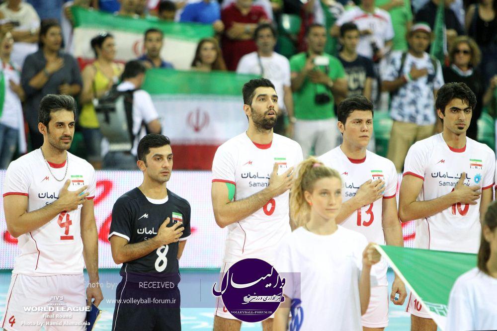 گزارش تصویری دیدار تیم ملی والیبال ایران و روسیه/ بخش 2