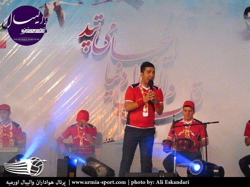 دانلود سرود رسمي تیم والیبال شهرداری ارومیه !