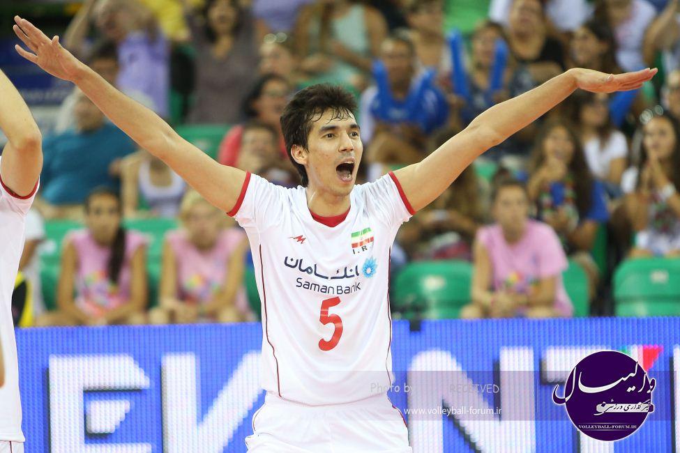 والیبال ایران با یک پله صعود یازدهم جهان شد !