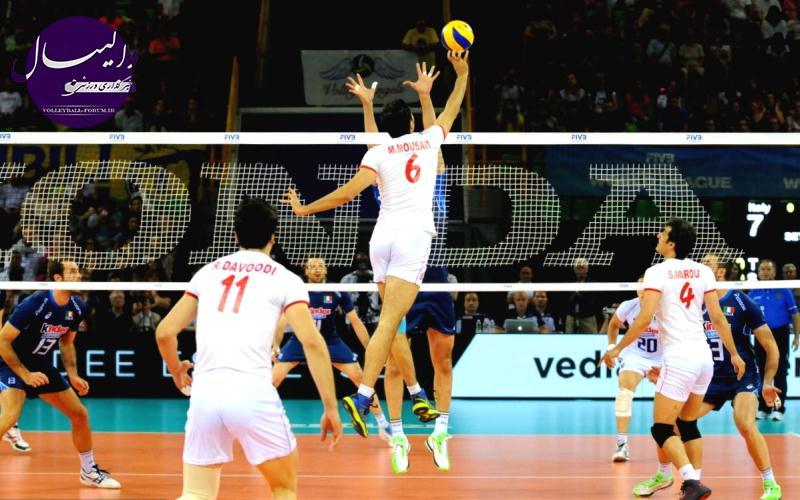 تیم ملی والیبال ۱۶ مرداد به آمریکا میرود ، استرالیا اولین حریف تدارکاتی ایران !