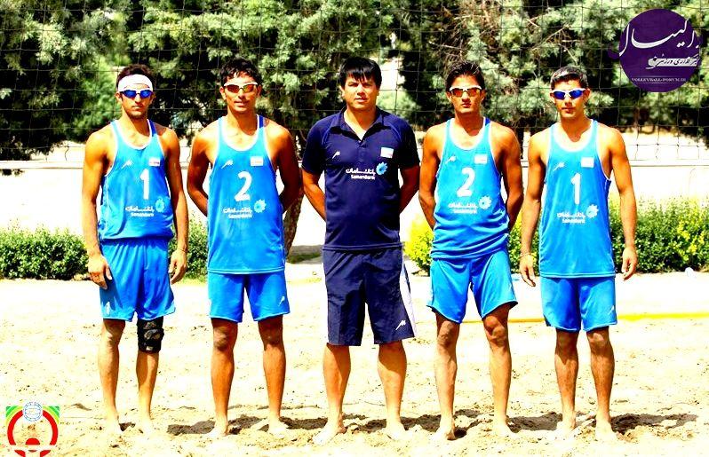 تیم ملی نوجوانان والیبال ساحلی ایران به مقام سوم آسیا دست یافتند !