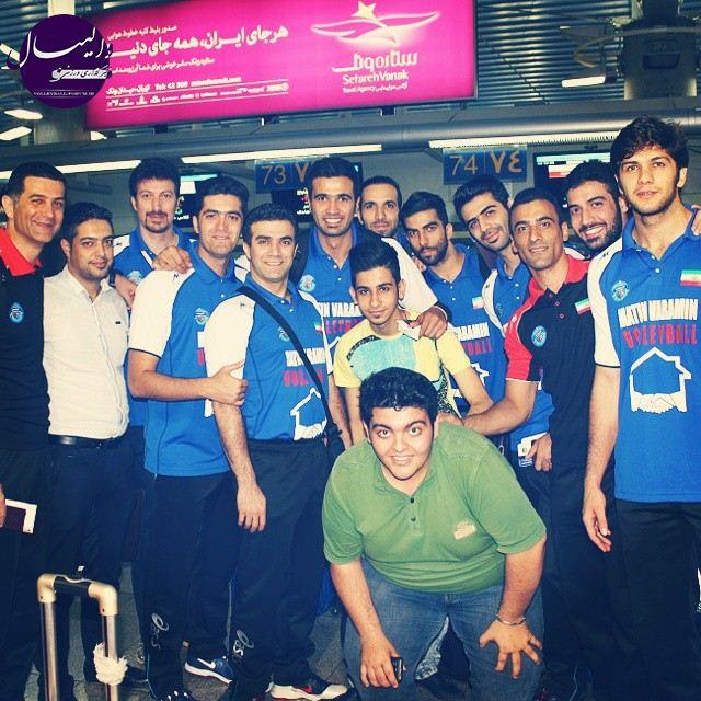 اردوی 10 روزه پیش از آغاز لیگه تیم متین در ترکیه !