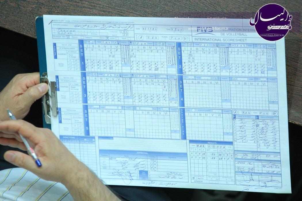 بررسی مرحله مقدماتی لیگ برتر والیبال از نگاه آماری !