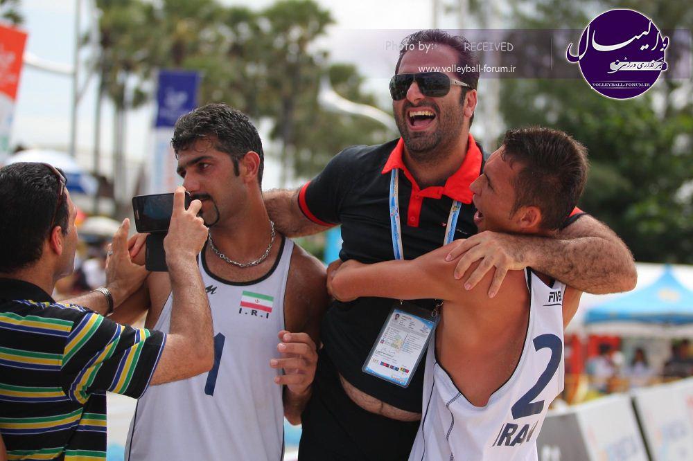 ساحلی بازان به تور جهانی اعزام می شوند/غفوری: هدف ما المپیک برزیل است