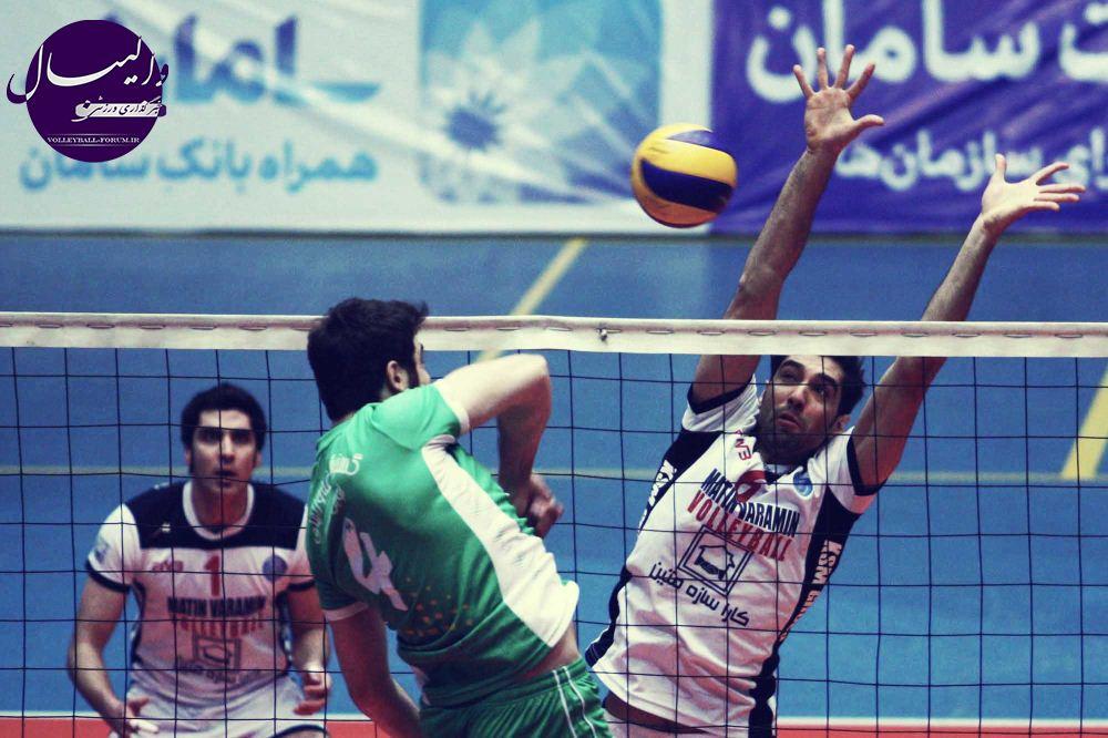 شهرام محمودی: بازی با تیم والیبال نوین کشاورز آسان نیست