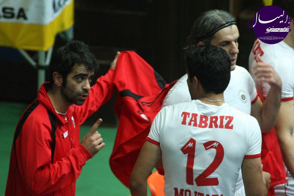 ترکیب تیم والیبال شهرداری تبریز برای فصل 93-94 مشخص شد