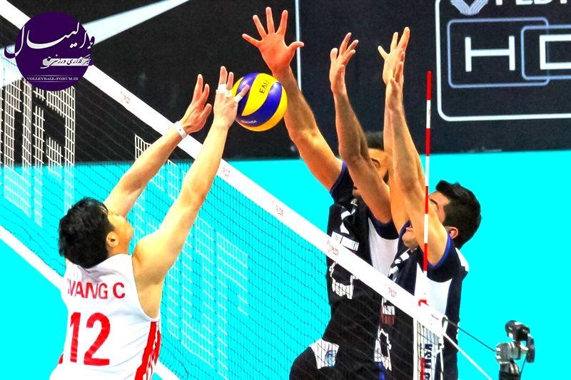 گزارش تصویری از مسابقات والیبال قهرمانی باشگاه های آسیا