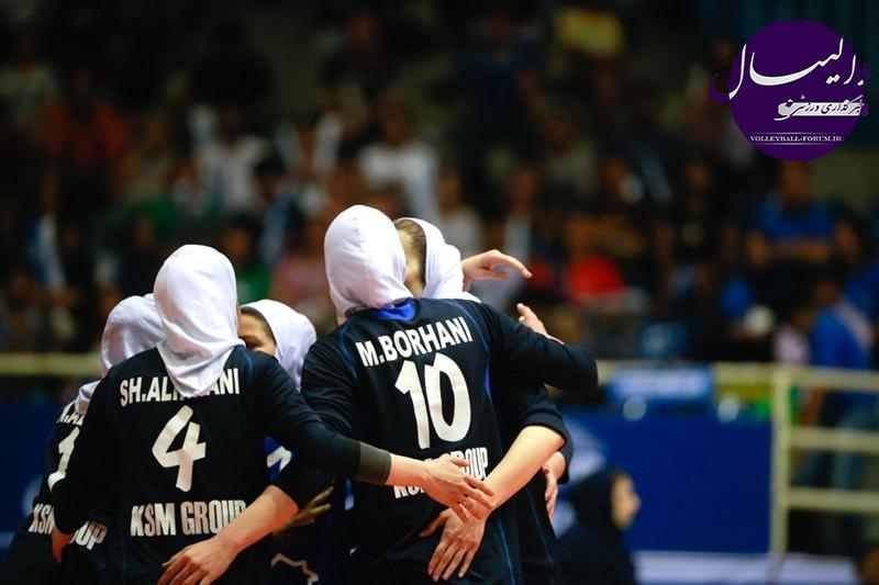 نتایج مسابقات والیبال قهرمانی باشگاه های زنان آسیا در روز سوم