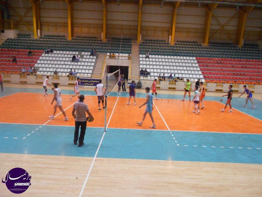 گزارش تصویری از تمرین تیم والیبال تعاون گنبد !