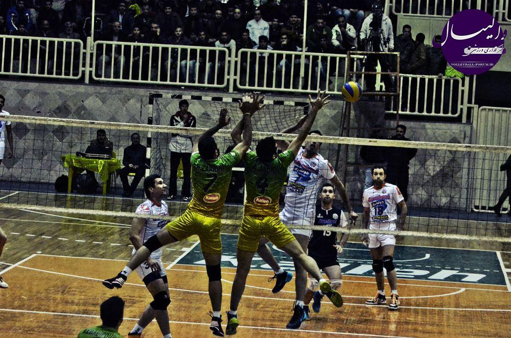 گزارش تصویری / کاله مازندران VS جواهری گنبد !